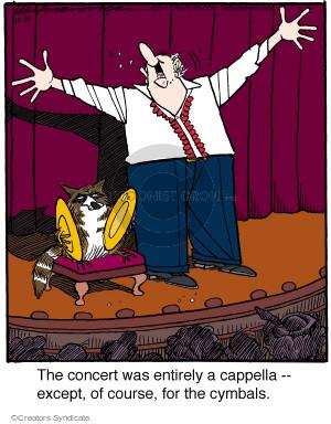 Comic Strip Jerry Van Amerongen  Ballard Street 2015-12-31 sing