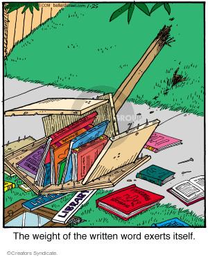 Cartoonist Jerry Van Amerongen  Ballard Street 2016-01-25 bookshelf