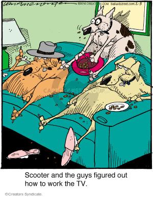 Comic Strip Jerry Van Amerongen  Ballard Street 2016-02-03 figure