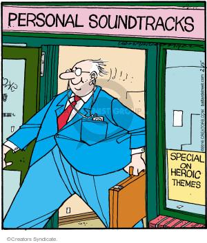 Comic Strip Jerry Van Amerongen  Ballard Street 2016-02-15 sound
