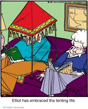 Comic Strip Jerry Van Amerongen  Ballard Street 2016-03-12 life