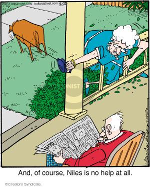 Comic Strip Jerry Van Amerongen  Ballard Street 2016-03-22 leash