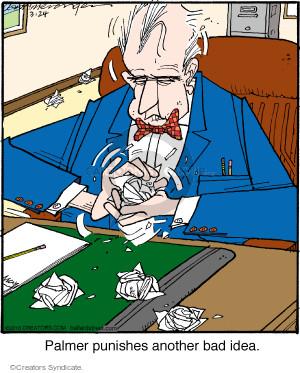 Comic Strip Jerry Van Amerongen  Ballard Street 2016-03-24 creative