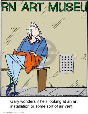 Comic Strip Jerry Van Amerongen  Ballard Street 2016-04-01 art