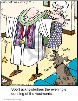 Comic Strip Jerry Van Amerongen  Ballard Street 2016-04-05 bark