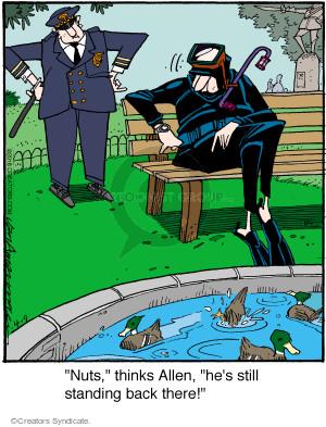 Comic Strip Jerry Van Amerongen  Ballard Street 2016-04-09 dive
