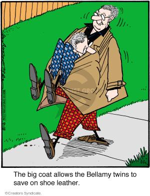 Comic Strip Jerry Van Amerongen  Ballard Street 2016-04-18 save