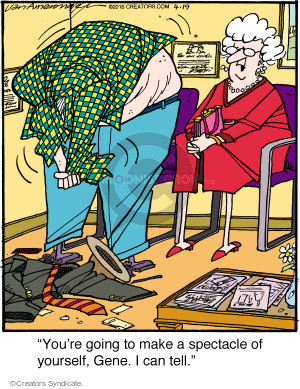 Comic Strip Jerry Van Amerongen  Ballard Street 2016-04-19 can