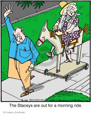 Comic Strip Jerry Van Amerongen  Ballard Street 2016-04-20 wooden
