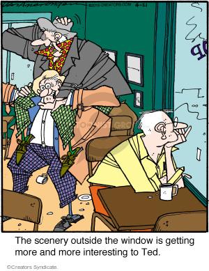 Comic Strip Jerry Van Amerongen  Ballard Street 2016-04-21 avoid