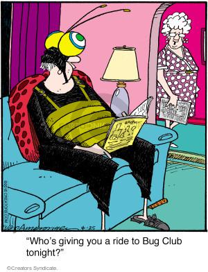Comic Strip Jerry Van Amerongen  Ballard Street 2016-04-25 tonight