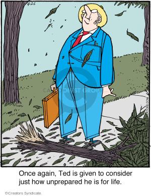 Comic Strip Jerry Van Amerongen  Ballard Street 2016-04-26 give