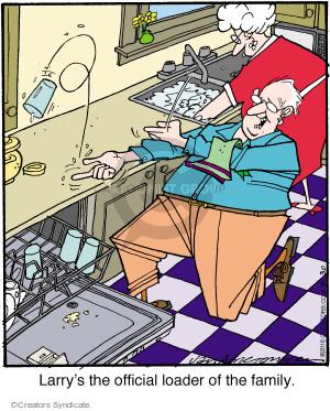 Comic Strip Jerry Van Amerongen  Ballard Street 2016-04-30 family