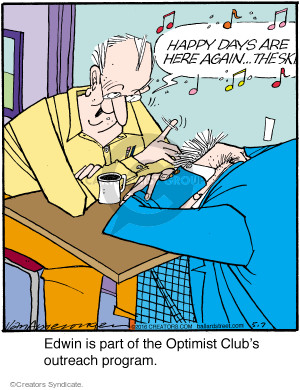 Comic Strip Jerry Van Amerongen  Ballard Street 2016-05-07 depression