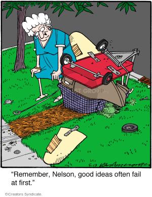 Comic Strip Jerry Van Amerongen  Ballard Street 2016-05-13 remember