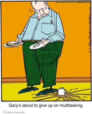 Comic Strip Jerry Van Amerongen  Ballard Street 2016-05-17 give