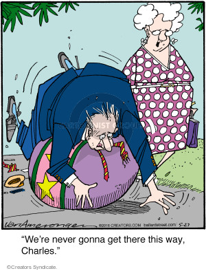 Comic Strip Jerry Van Amerongen  Ballard Street 2016-05-27 ball