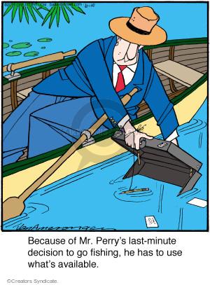 Comic Strip Jerry Van Amerongen  Ballard Street 2016-06-10 fish