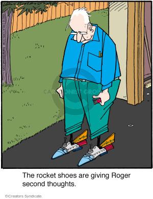 Comic Strip Jerry Van Amerongen  Ballard Street 2016-06-11 apprehensive