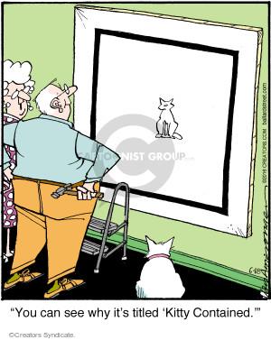 Comic Strip Jerry Van Amerongen  Ballard Street 2016-06-18 cat