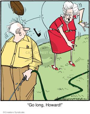 Comic Strip Jerry Van Amerongen  Ballard Street 2016-06-22 throw