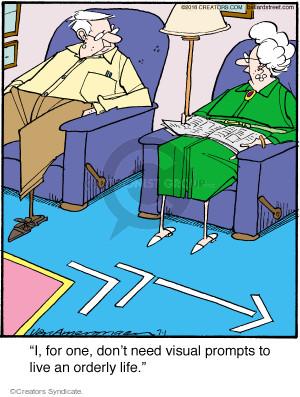 Comic Strip Jerry Van Amerongen  Ballard Street 2016-07-01 life