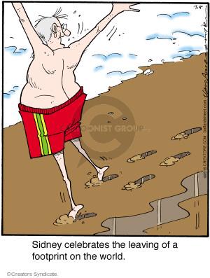 Comic Strip Jerry Van Amerongen  Ballard Street 2016-07-04 beach