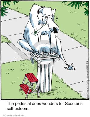 Comic Strip Jerry Van Amerongen  Ballard Street 2016-07-08 self-esteem