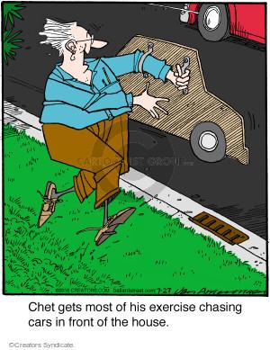 Cartoonist Jerry Van Amerongen  Ballard Street 2016-07-27 auto