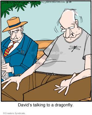 Comic Strip Jerry Van Amerongen  Ballard Street 2016-08-18 talk