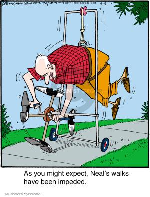 Cartoonist Jerry Van Amerongen  Ballard Street 2016-09-03 Neal