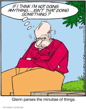Comic Strip Jerry Van Amerongen  Ballard Street 2016-09-13 Glenn