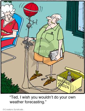 Comic Strip Jerry Van Amerongen  Ballard Street 2016-09-17 own