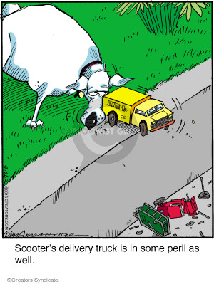 Comic Strip Jerry Van Amerongen  Ballard Street 2016-09-26 hazard