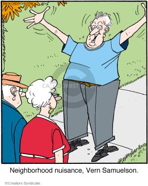 Comic Strip Jerry Van Amerongen  Ballard Street 2016-10-05 nuisance