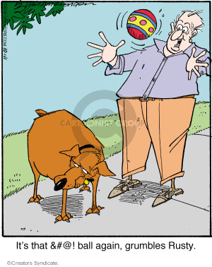 Comic Strip Jerry Van Amerongen  Ballard Street 2016-10-11 rusty