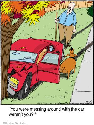 Comic Strip Jerry Van Amerongen  Ballard Street 2016-10-26 tree