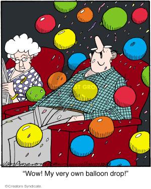 Comic Strip Jerry Van Amerongen  Ballard Street 2016-10-28 own