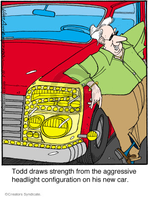 Cartoonist Jerry Van Amerongen  Ballard Street 2016-11-01 automobile