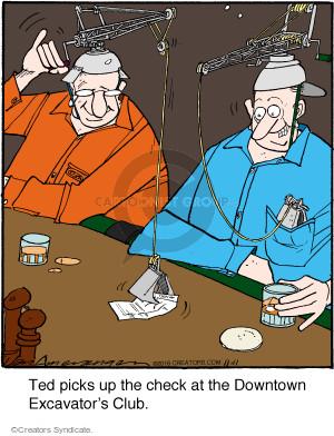 Comic Strip Jerry Van Amerongen  Ballard Street 2016-11-11 pick