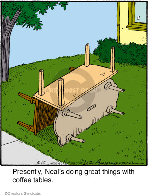 Comic Strip Jerry Van Amerongen  Ballard Street 2016-11-15 furniture