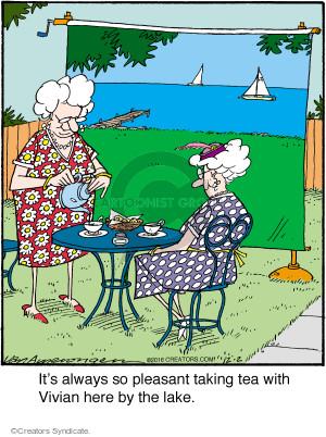 Comic Strip Jerry Van Amerongen  Ballard Street 2016-12-02 pleasant