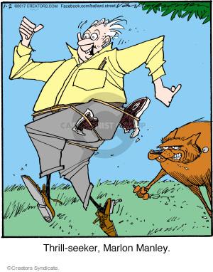 Comic Strip Jerry Van Amerongen  Ballard Street 2017-01-02 dangerous