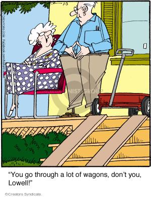 Comic Strip Jerry Van Amerongen  Ballard Street 2017-01-03 wagon