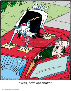 Cartoonist Jerry Van Amerongen  Ballard Street 2017-01-20 automobile