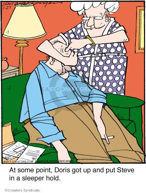 Comic Strip Jerry Van Amerongen  Ballard Street 2017-01-27 sleeper