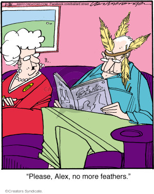 Comic Strip Jerry Van Amerongen  Ballard Street 2017-01-31 Alex