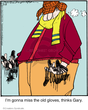 Comic Strip Jerry Van Amerongen  Ballard Street 2017-02-08 wear