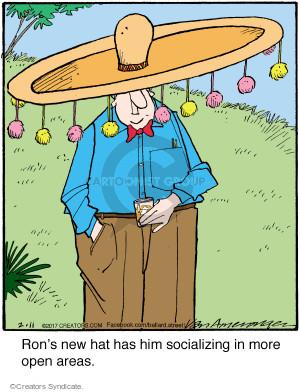 Comic Strip Jerry Van Amerongen  Ballard Street 2017-02-11 new hat
