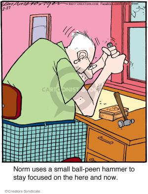 Cartoonist Jerry Van Amerongen  Ballard Street 2017-02-27 norm